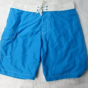 Old Navy Large Blue Mens Board Shorts